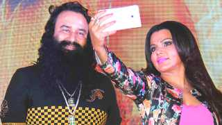 rakhi sawant in new movie baba ram rahim esakal news