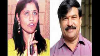 bjp mla s a ramdas ex girlfriend stroms his home and creates ruckus