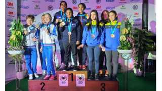 India's gold medal in international shooting