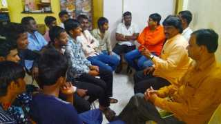 Meeting of the Dhangar community agitation