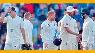 ख्राईस्टचर्च - न्यूझीलंडविरुद्धचा दुसरा कसोटी सामना अनिर्णित राहिल्यावर विजय हुकल्याची निराशा इंग्लंड खेळाडूंना लपविता आली नाही.