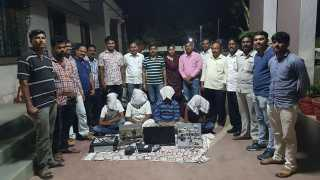 IPL Team Sangola Mobile Car with 39 Lakh Seized