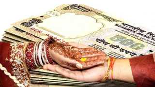 Parent in laws persecuted a woman for Dowry