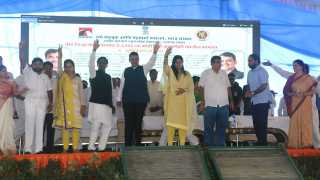 Six thousand crores road works Bhumi Pujan by Fadnavis and Gadkari