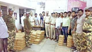 Ganja smugglers arrested, 12 lakhs of ganja seized