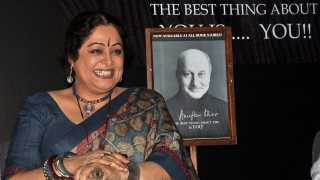 File photo of Kirron Kher