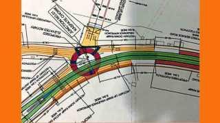 कस्पटे वस्ती चौक ते मधुबन हॉटेलपर्यंतच्या प्रस्तावित उड्डाण पुलाचे रेखाचित्र.