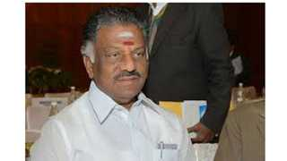 National News Politics Panirselvam Criticizes