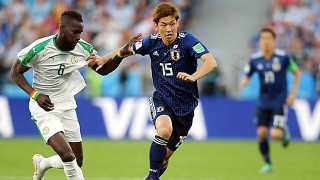 Japan Senegal tie