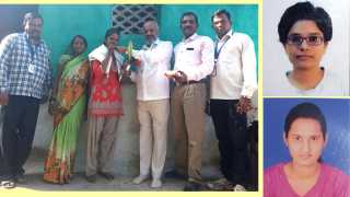 Marathi News Mhasadi News Merit Girls Second in English in Poonam Pawar University of Bhillsa Samaj