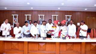 Lalasaheb Malshikare as the vice president of Someshwar factory