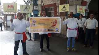 Marathi News Mumbai News Railway Station Clean Station People Awareness