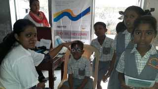 marathi news mumbai child eye check up
