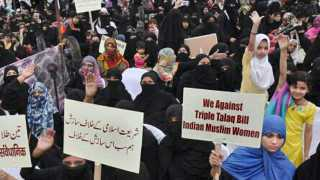 Muslim women's front against triple talaq bills