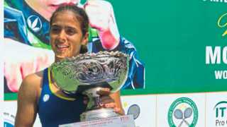 Tennis player Ankita Raina
