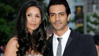 Arjun Rampal and Mehr Jessia Rampal
