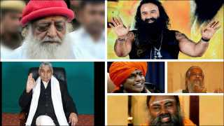 asaram bapu to swami nityanand rape crime case