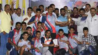 Satara team s the best among the boxing championship