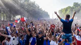 France vs Croatia World Cup final