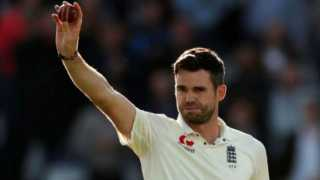 James Anderson first bowler to take 100 Test wickets at Lords