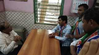sholay style agitation at kalyan east mumbai