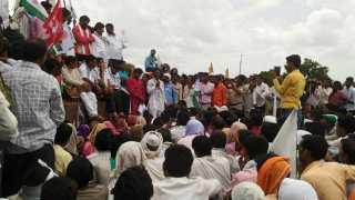 farmer agitation in maharashtra