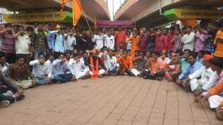 Maratha Kranti Morcha storm in Aurangabad