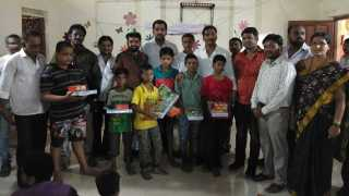MNS's social activities in Ulhasnagar