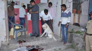 nagar mobile blast in courier office