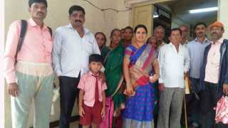 If the supply of electricity does not go smoothly then villager warned of fasting at pali raigad