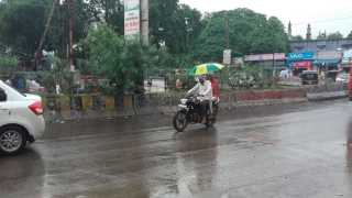 After two days of rest, again raining in Parbhani