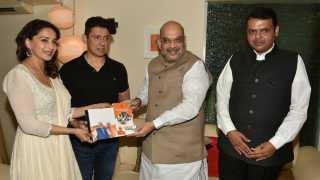 Actress Madhuri Dixit mights be gets Rajya Sabha offer