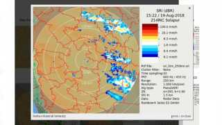 Special Radar for record Solapur Rain