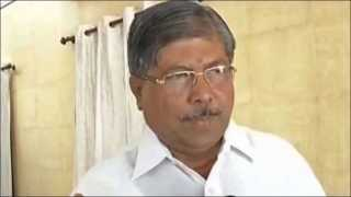 Revenue Minister Chandrakant Patil Talks About Prithviraj Chavan