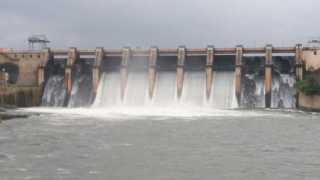 Dam full on neera river