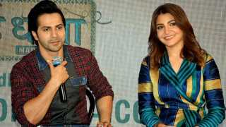 Varun Dhawan Anushka Sharma signed as ambassadors of Skill India Campaign