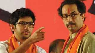 aditya and uddhav thackeray