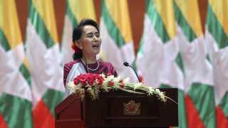Aung Sann Suu Kyi
