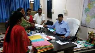 Distraction of Anganwadi centers in Atapalli Nagar Panchayat area