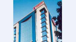 कॉसमॉस बॅंकेचे मुख्यालय असलेली इमारत
