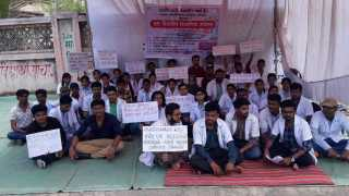 For the experienced teachers, scholarships,  'D farm  students' hunger strike