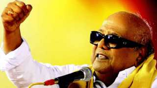DMK leader Karunanidhi passed away