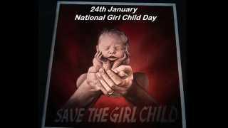 marathi news national girl child day social media celebrities