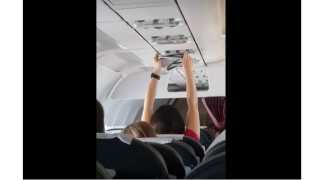 International News Moscow Plane AC Air Panty Air Journey