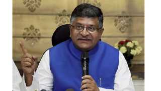 Congress is born of corruption says Ravi Shankar Prasad