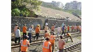 megablock for sion kurla bridge dismantle