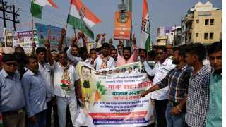 Marathi News Congress allocation movement against the BJP government