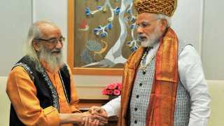 Babasaheb Purandare meet Narendra Modi