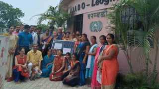 Peace Day celebrated on behalf of Sarhas International Agency in baramati