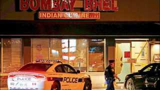 """मिसिसौंगा (कॅनडा) ः शहरातील """"बॉम्बे भेळ' या भारतीय रेस्टॉरंटमध्ये गुरुवारी रात्री बॉंबस्फोट होऊन 15 नागरिक जखमी झाले."""
